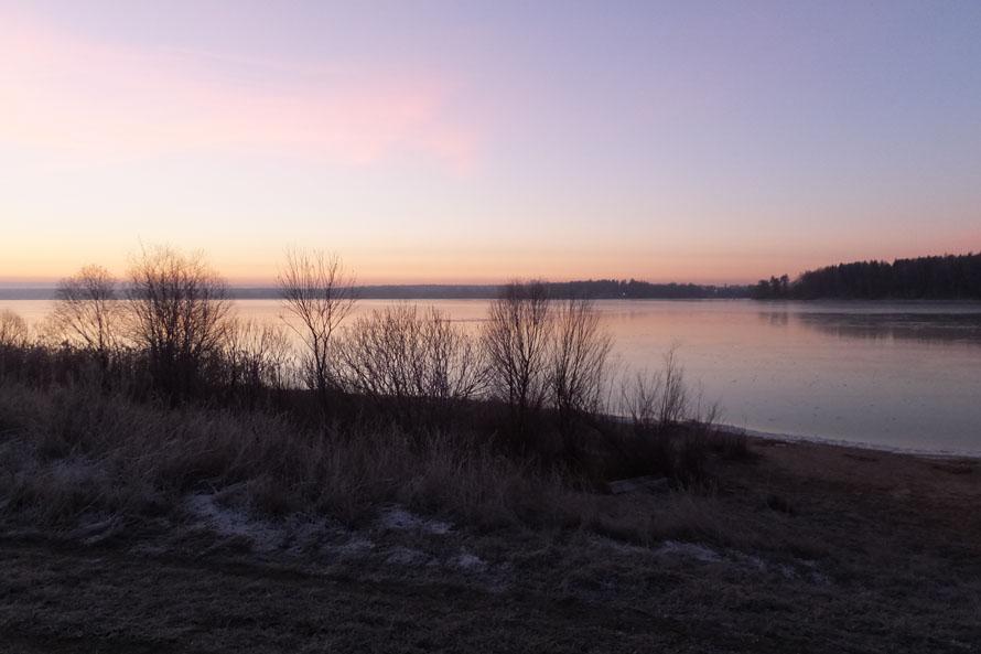 Озерна в деревне Хотебцово