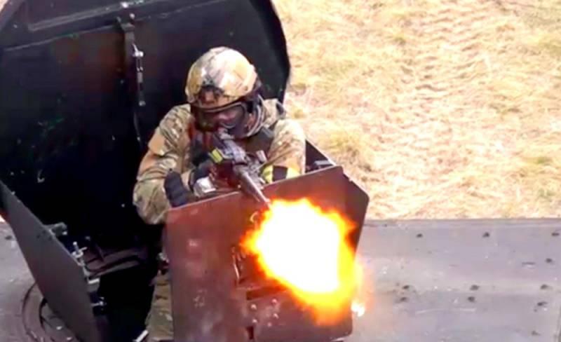 Уникальные кадры: спецназ с боем прорывается к заблокированным бойцам РФ