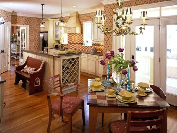 Подбираем современные обои для кухни на 70 красивых фото