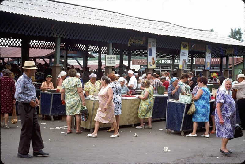 СССР Из Окна Поезда В 1975 Году