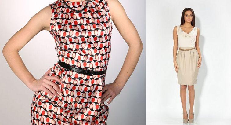 Платья для женщин после 50 лет : платья без рукавов