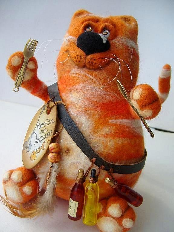 Авторские валяные игрушки