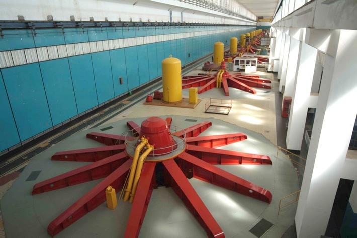 На Волжской ГЭС ввели в эксплуатацию модернизированный гидроагрегат