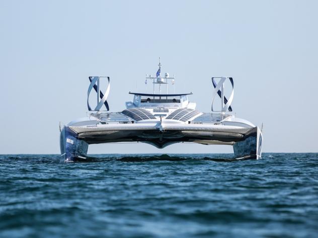 Toyota отправляет в кругосветное путешествие первую в мире водородную яхту