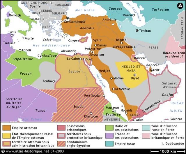 Почему Ближний Восток стал горячей точкой