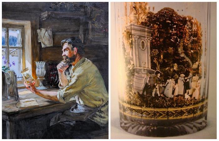 Легендарные творения русского самородка Александра Вершинина: Его удивительные стаканы