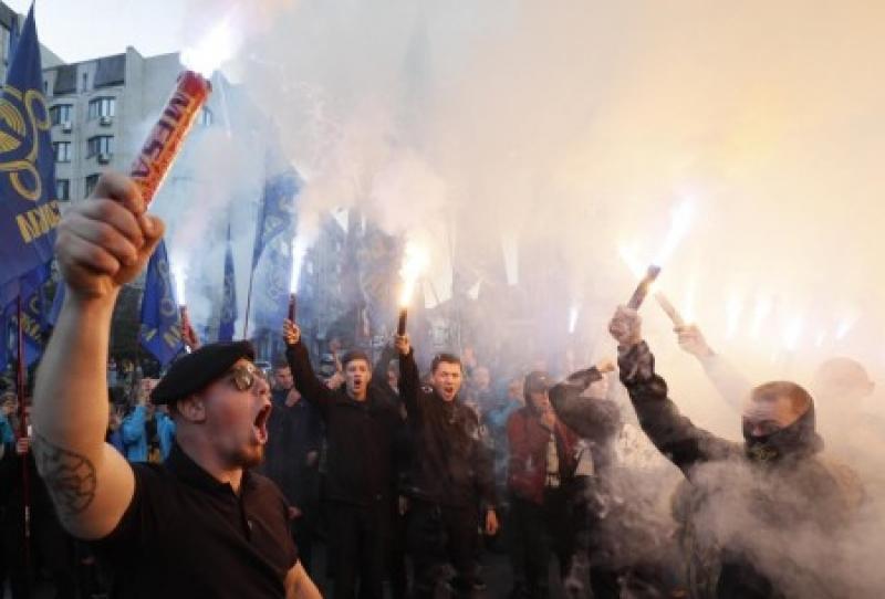 В Украине подтасовали рекорд  по массовому исполнению гимна УПА