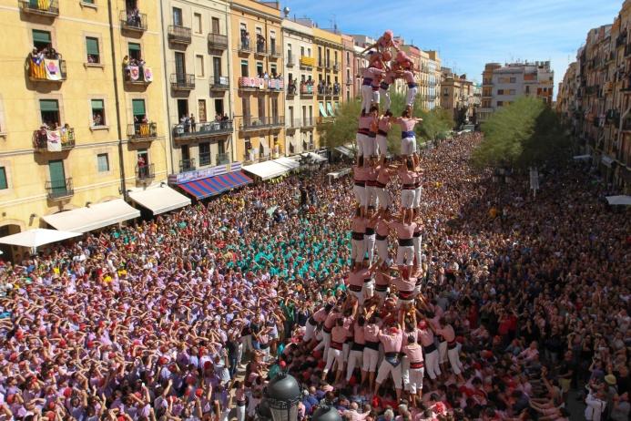 Испания:постоять на голове