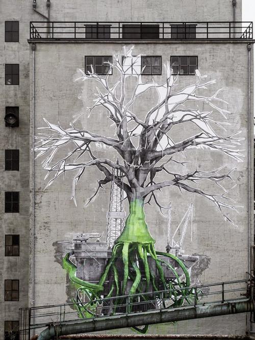 19. Фёльклинген, Германия граффити, стрит-арт, художники