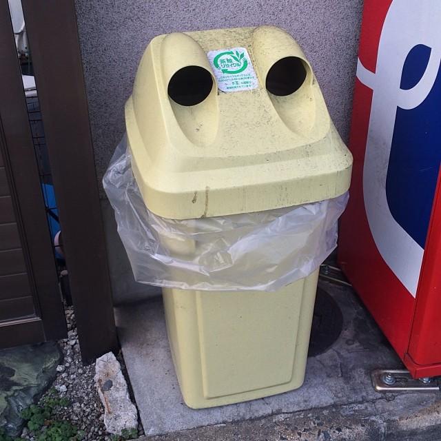 На улицах даже мусорки милые в мире, люди, прикол, япония