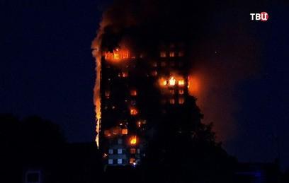 При пожаре в лондонской высотке погибли 6 человек