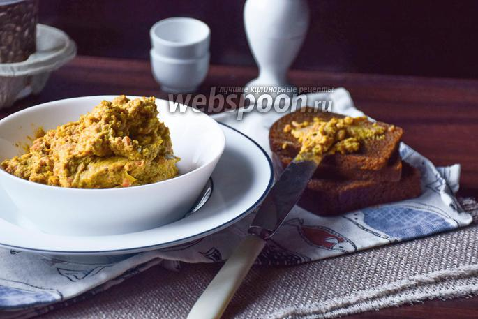 Фото Яичный паштет с печенью трески