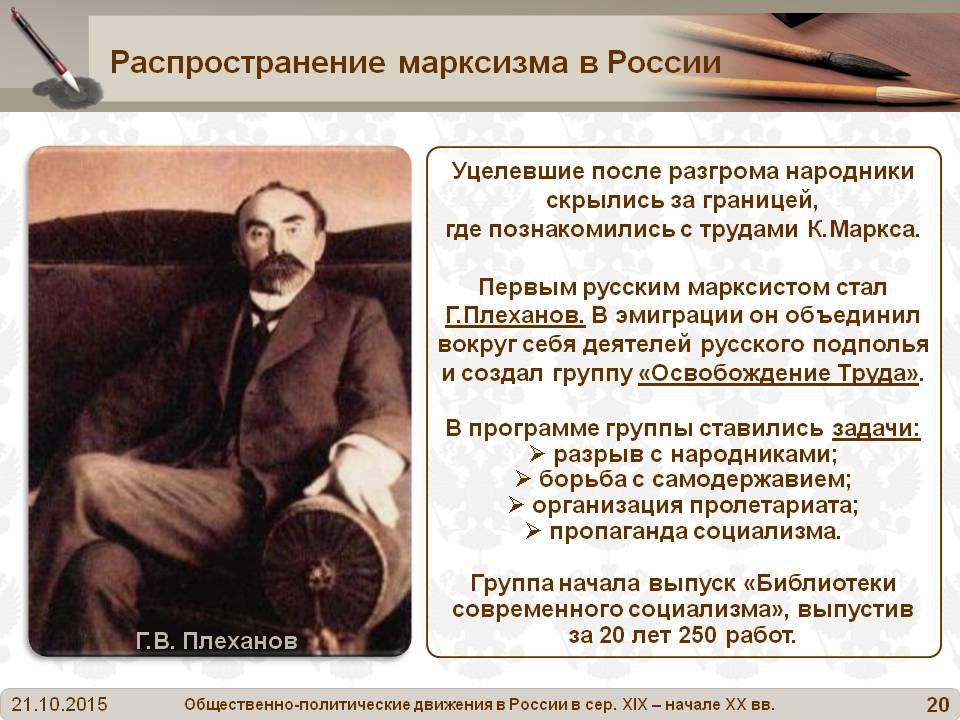 От утопизма Маркса к научному социализму
