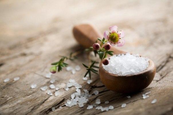 Лечение волос солью. 4 рецепта.
