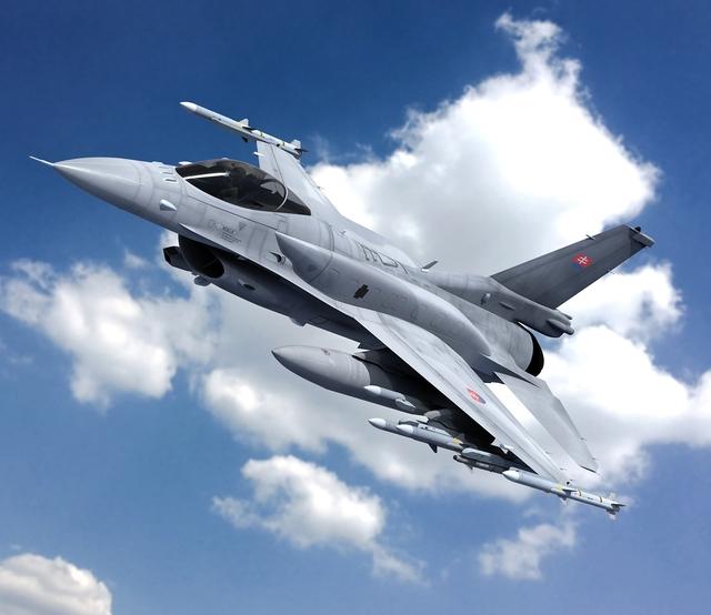 Словакия подписала соглашение на приобретение 14 американских истребителей F-16V