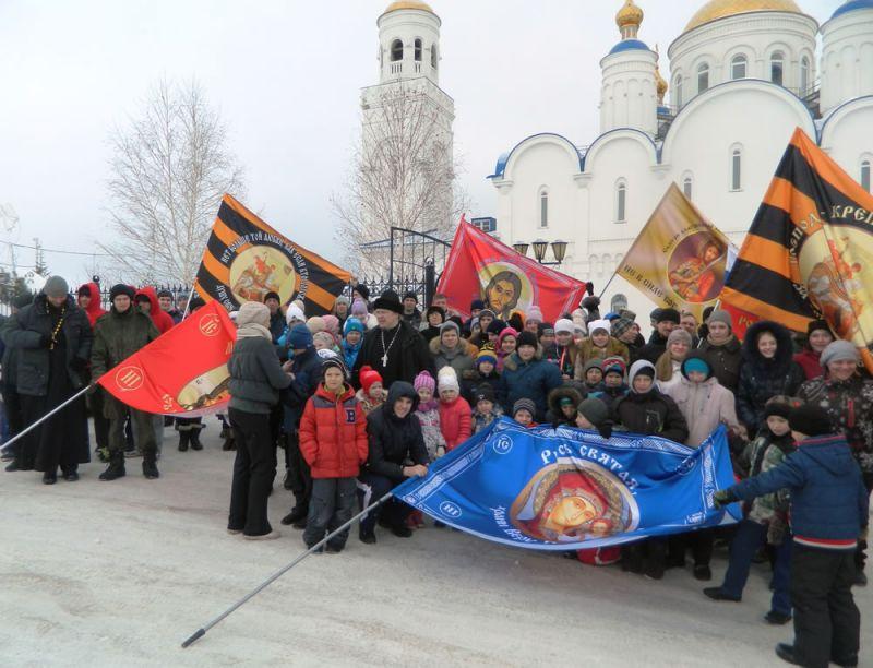 Молодежный пробег в Чебаркульском храме