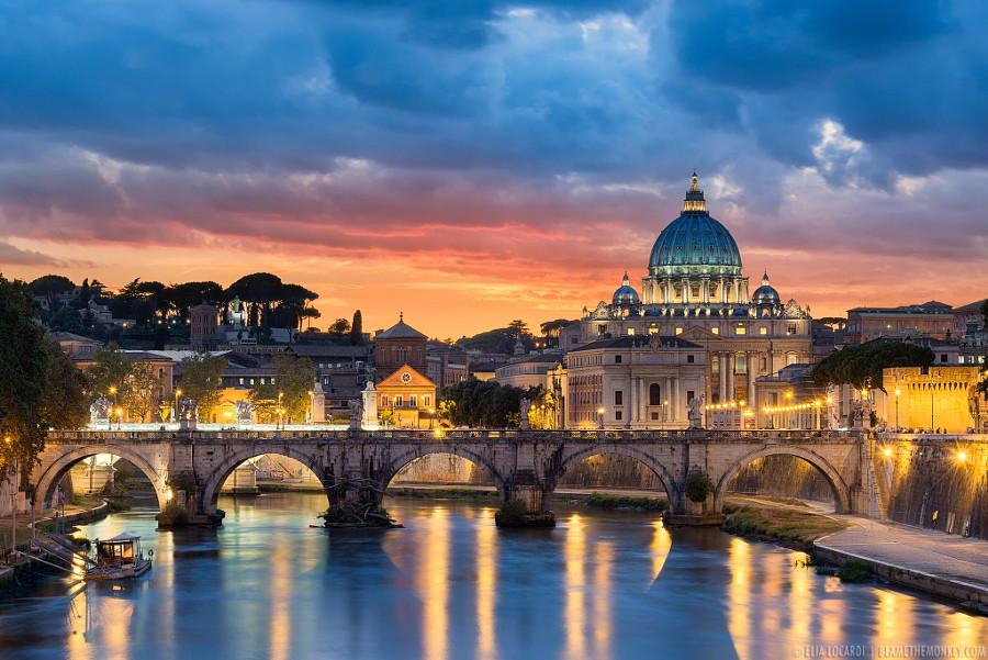 1. Рим, Италия в мире, фото, фотограф