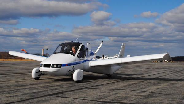 Летающий автомобиль Terrafug…