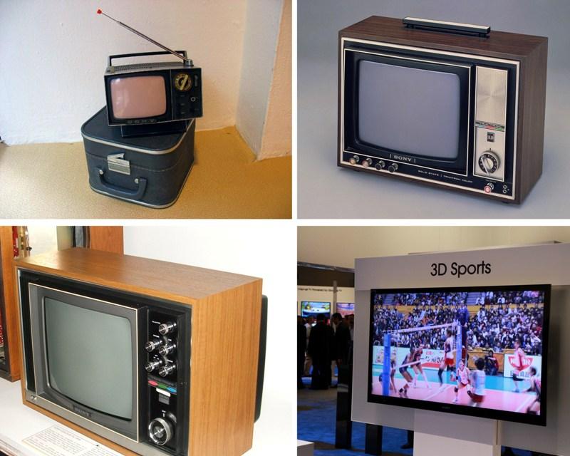 История развития телевизоров Sony.