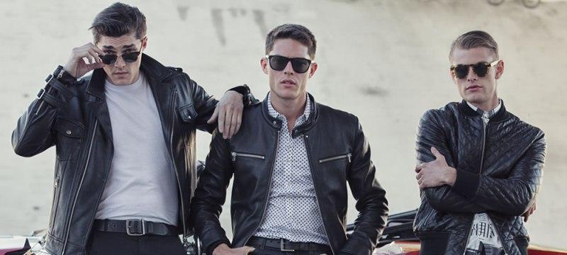 Мужские кожаные куртки — вечный тренд мужской моды.