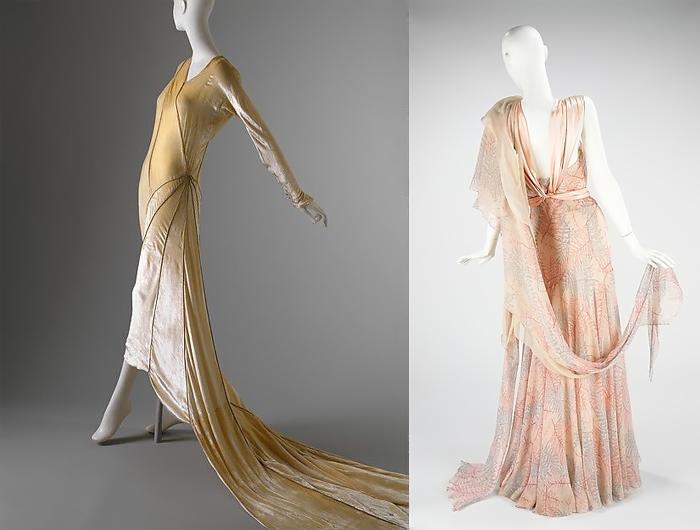 Изысканные наряды от мадемуазель Вионне.
