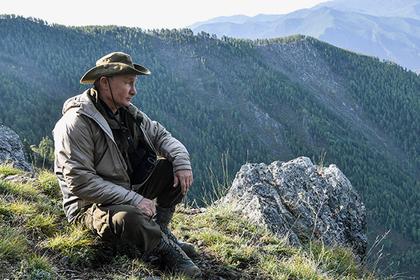 Появились фотографии с отдыха Путина в горах