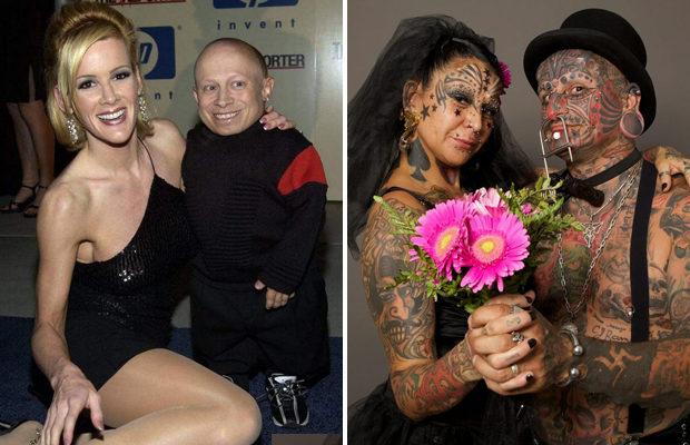 Самые странные семейные пары в мире
