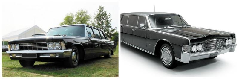 ЗИЛ-114 (1967-1978)-Lincoln Continental(1964-1970) автомобили, история, ссср, факты