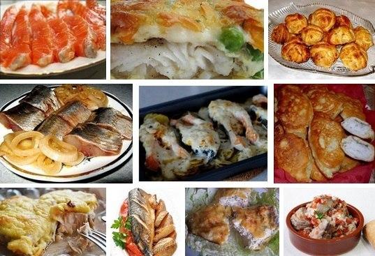 Подборка рыбных блюд! Актуально для приближающегося Нового года)