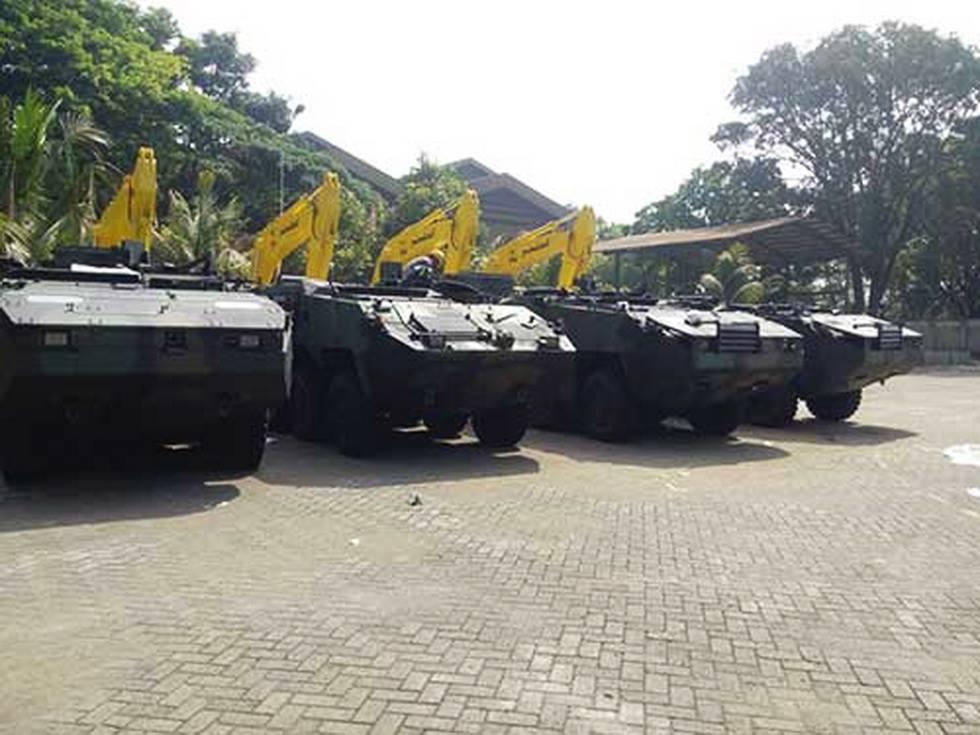 Индонезийская армия получила первые четыре бронетранспортера Pandur II