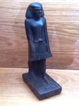 8. Движущаяся статуя Неб-Сану статуи, ужас