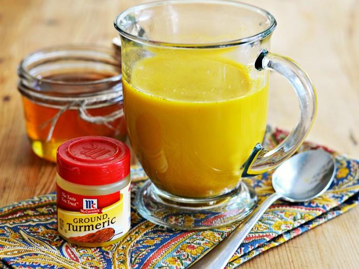 Куркума с молоком и медом полезные свойства