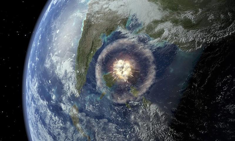 Ученые докопали до астероида…