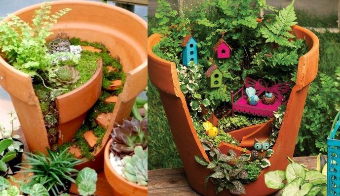 Красота в саду и огороде своими руками фото
