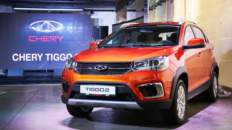 Chery начала продавать в России китайского конкурента Lada Xray