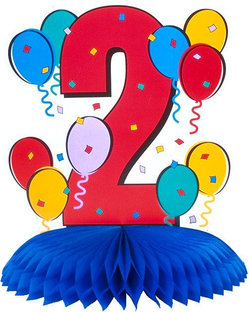 Плакат с днем рождения 2 года девочке