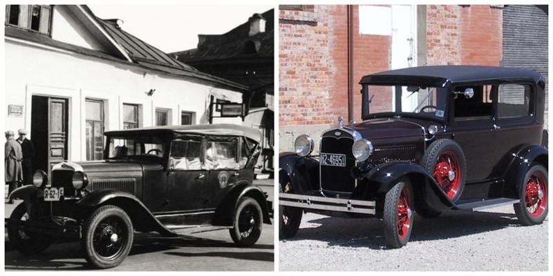 ГАЗ-А(1932-1936)-Ford Model A(1927-1931) автомобили, история, ссср, факты