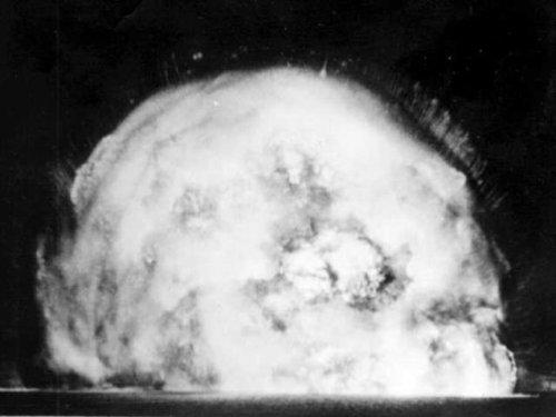 Снимок ядерного взрыва