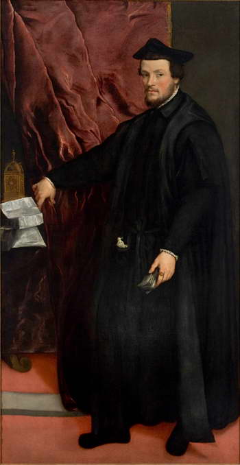 Тициан. Портрет кардинала Кристофоро Мадруццо