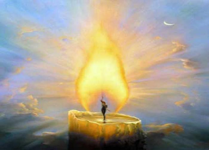 Славянские целительные практики на свечу