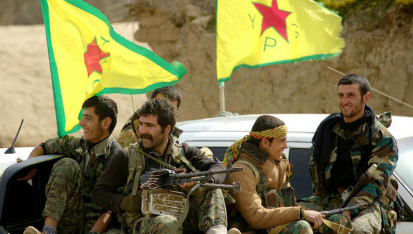 Курдские формирования в Сирии