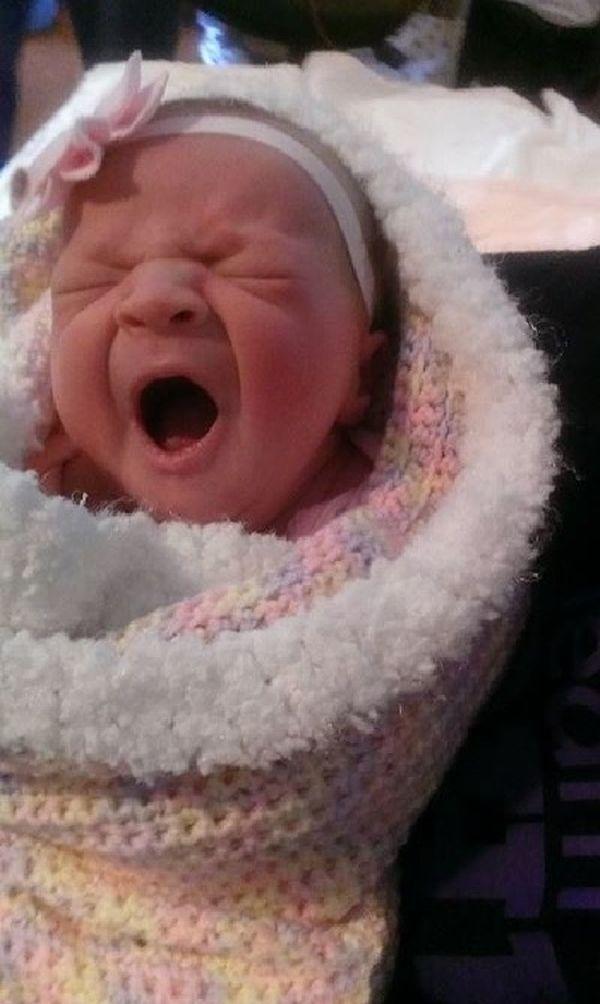 Эта новорожденная малышка совершила настоящее чудо — вернула маму к жизни