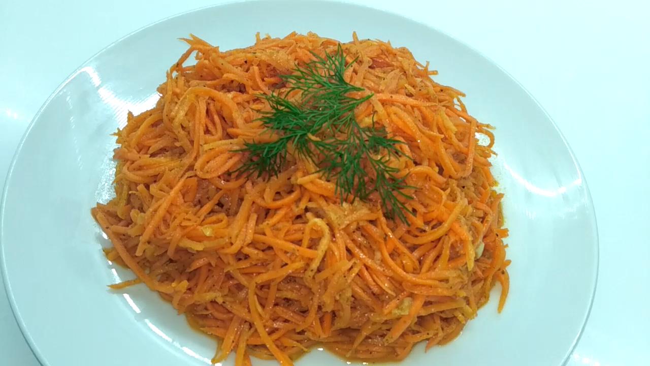 Вкуснейшая морковь по -корейски