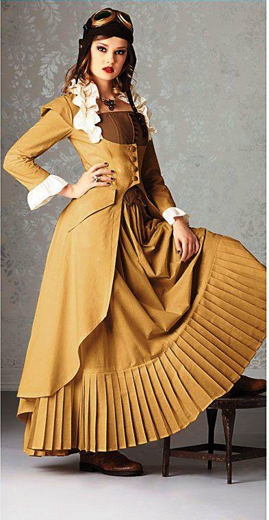 Steampunk Victorian Costume