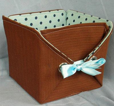 Оригинальный короб для хранения. Идея