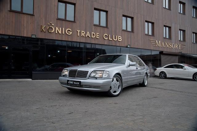 Mercede-Benz S600 7.0 AMG/1996 за 3 миллиона 665 тысяч рублей