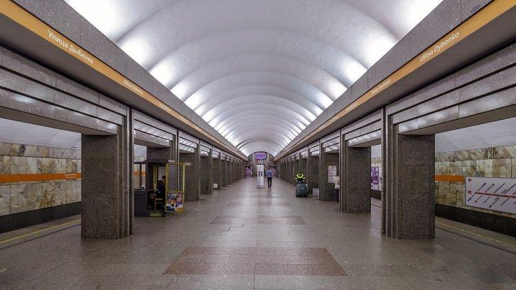 Второй вестибюль «Василеостр…