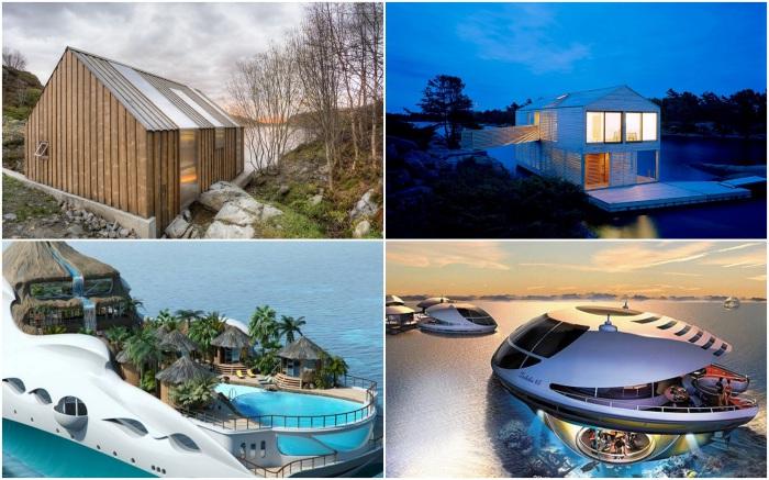 Потрясающие плавучие дома, которые вдохновляют на путешествия