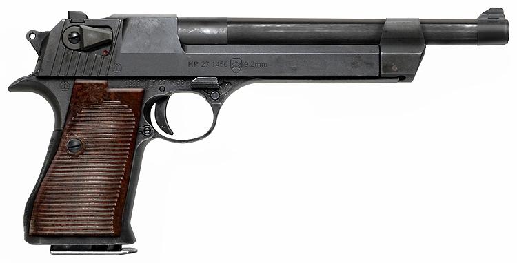 Пистолет Подбырина Подбырина, пистолет
