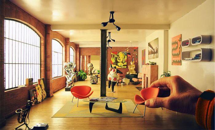 Миниатюрный мир Дэна Олманна интересное, миниатюры, музей